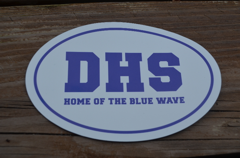 Darien high school parents association car magnet darien high school parents association